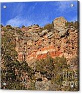 Palo Duro Canyon 021713.102 Acrylic Print