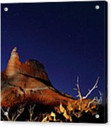 Palo Duro Canyon 2am-114844 Acrylic Print