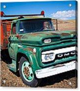 Palouse Gmc Truck Acrylic Print