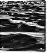 Palouse In Black And White Acrylic Print