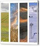 Palouse Seasons II Acrylic Print by Doug Davidson
