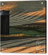 Palouse Sunset Acrylic Print by Sandra Bronstein