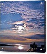 Pamlico Sound Sunset Acrylic Print