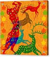 Pan Leads The Dance Acrylic Print