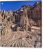 Panaca Formations In Cathedral Gorge State Park Nevada Acrylic Print