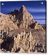 Panaca Sandstone Formations Cathedral Gorge State Park Nevada Acrylic Print