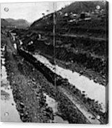 Panama Canal, 1908 Acrylic Print