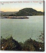 Panama Canal La Boca Acrylic Print