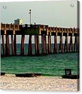 Panama City Beach Pier 2  Acrylic Print