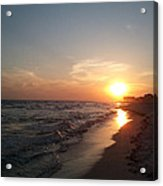 Panama City Beach Sunset Acrylic Print