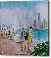 Panama City Panama Acrylic Print