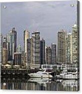 Panama City Skyline Panama Acrylic Print