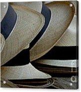 Panama Hats Acrylic Print