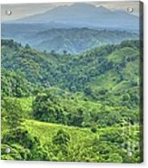 Panama Landscape Acrylic Print