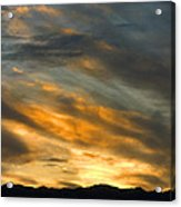 Panamint Sunset Acrylic Print