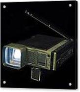 Panasonic Portable Tv Acrylic Print