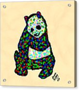 Panda A La Fauvism Acrylic Print