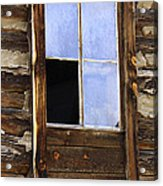 Panes Of Yesteryear Acrylic Print
