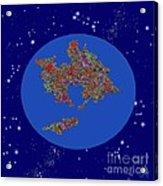Pangea Ultima Acrylic Print