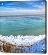 Panning Lake Michigan Acrylic Print