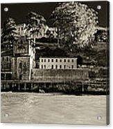 Panorama Alcatraz Up Close Acrylic Print