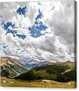 Panorama Atop Independence Pass Acrylic Print