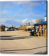 Panorama Cedar Cove Rv Park Street 3 Acrylic Print