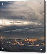 Panorama Clearing Summer Storm Bryce Canyon National Park Utah Acrylic Print