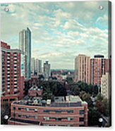 Panorama-dt-toronto Looking East Acrylic Print