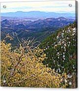 Panorama Emory Pass Vista Nm Acrylic Print