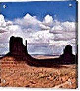 Panorama - Monument Valley Park Acrylic Print