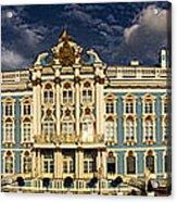 Panorama Of Catherine Palace Acrylic Print by David Smith