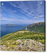 Panorama Of The Outer Bay Of Islands, Newfoundland Acrylic Print