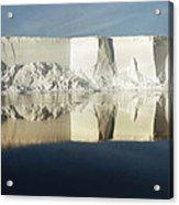Panorama Of Iceberg Ross Sea Antarctica Acrylic Print