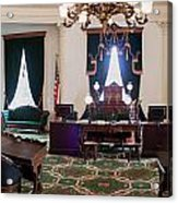 Panorama Of The Vermont State House Montpelier Vermont Acrylic Print