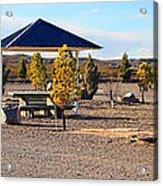 Panorama Outdoor Community Area Acrylic Print