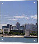 Panorama Over Lisbon Oceanarium Acrylic Print