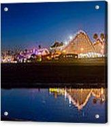Panorama - Santa Cruz Boardwalk Acrylic Print