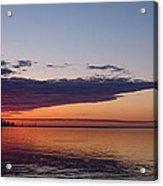 Panorama - Toronto Sunrise In June  Acrylic Print