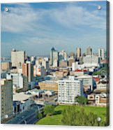 Panoramic Aerial View Of Durban, South Acrylic Print