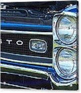 panoramic blue GTO Acrylic Print