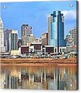 Panoramic Cincinnati Acrylic Print