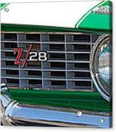 panoramic green Z28 Acrylic Print