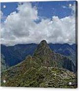 Panoramic Machu Picchu Acrylic Print