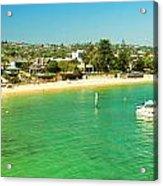 Panoramic Photo Of Camp Cove At Watsons Bay Acrylic Print