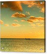 Panoramic Photo Sunrise At Monky Mia Acrylic Print