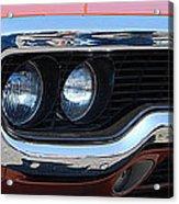 panoramic Plymouth GTX Acrylic Print