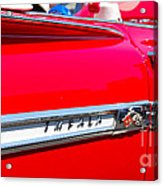 panoramic red Impala Acrylic Print