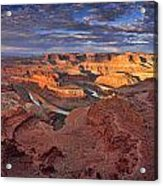 Panoramic Sunrise Over Dead Horse Point State Park Acrylic Print