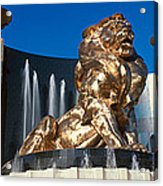 Panoramic View Of Mgm Lion And Mgm Acrylic Print